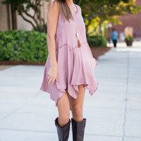 The Sally Tunic, Rose