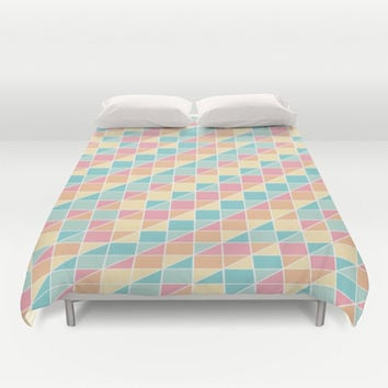 Vintage Candy Duvet Cover by Ashley