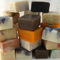 Organic Soap Sampler Set, 9 Half Bars