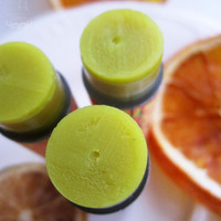 Organic Lip Balm - Tangerine Transcendence - Tangerine &amp; Lime Spice herbal balm