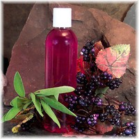 Blackberry Sage Fragrant Body Wash Gel Soap Fuschia Pink Color