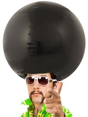Giant Inflatable Afro Hair Wig - Whimsical &amp; Unique Gift Ideas for the Coolest Gift Givers