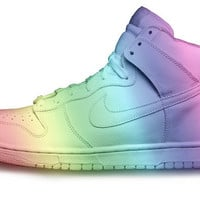 Custom Nike Rainbow