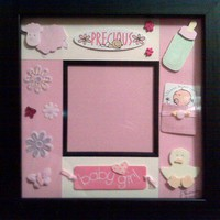 Custom Photo Frame - Precious Baby Girl