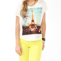 Oversized Paris Top