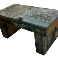 Rustic Cabin Look Table Shelf