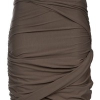 Carven Twisted Fitted Jersey Skirt - Bernard - farfetch.com