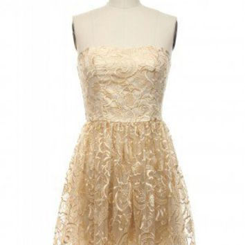 Silken Sweetheart Dress