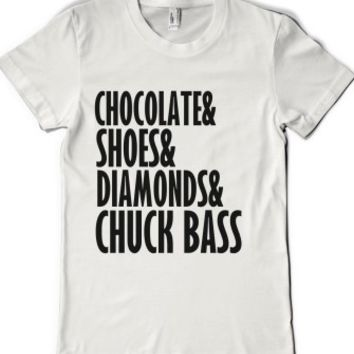 CHOCOLATE SHOES DIAMONDS AND CHUCK BASS