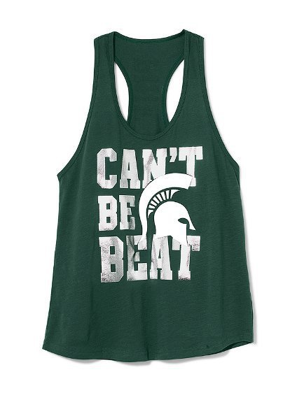 Michigan State Racerback Tank - Victoria's Secret Pink® - Victoria's Secret