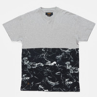 10Deep | Tops | F14 Raise-Up Split Tee - Marble