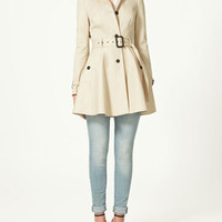 FLARED RAINCOAT - Collection - Woman - New collection - ZARA United States