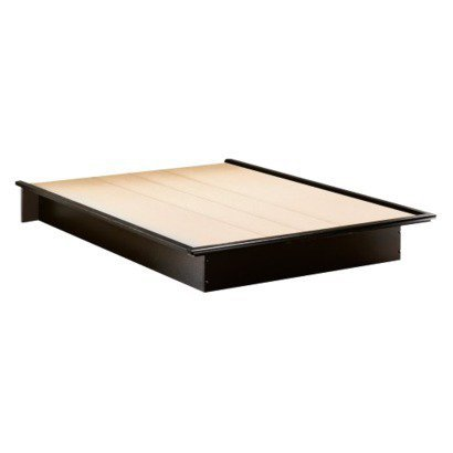Simply Basics Platform Bed - Black
