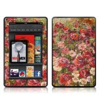 Kindle Fire Skin Kit/Decal - Fleurs Sauvages - Daniella Foletto (does not fit Kindle Fire HD)