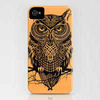 Warrior Owl 2 iPhone Case by Rachel Caldwell | Society6