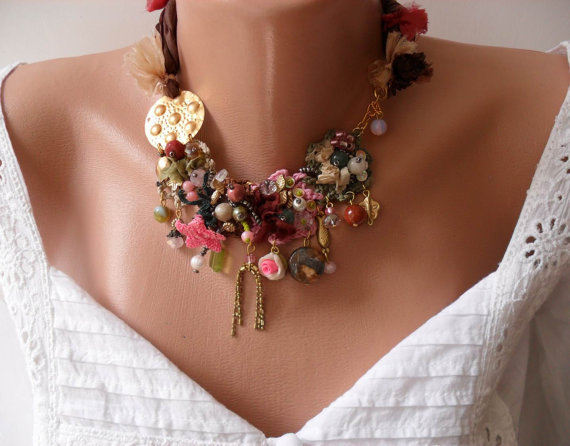 Colorful Necklace - Speacial Handmade Design - Summer Collection