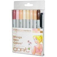 Copic Markers 9-Piece Ciao Manga Set, Skin: Arts, Crafts & Sewing