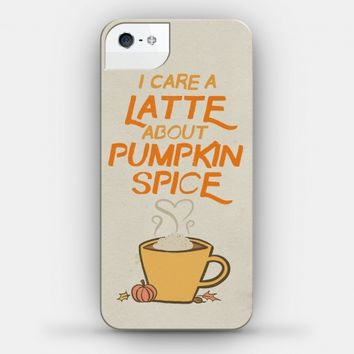 I Care a Latte (Pumpkin Spice)