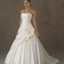 Taffeta Gown Strapless Neckline Trumpet Gown YSP041 | $139.69 | Maryswill.com.