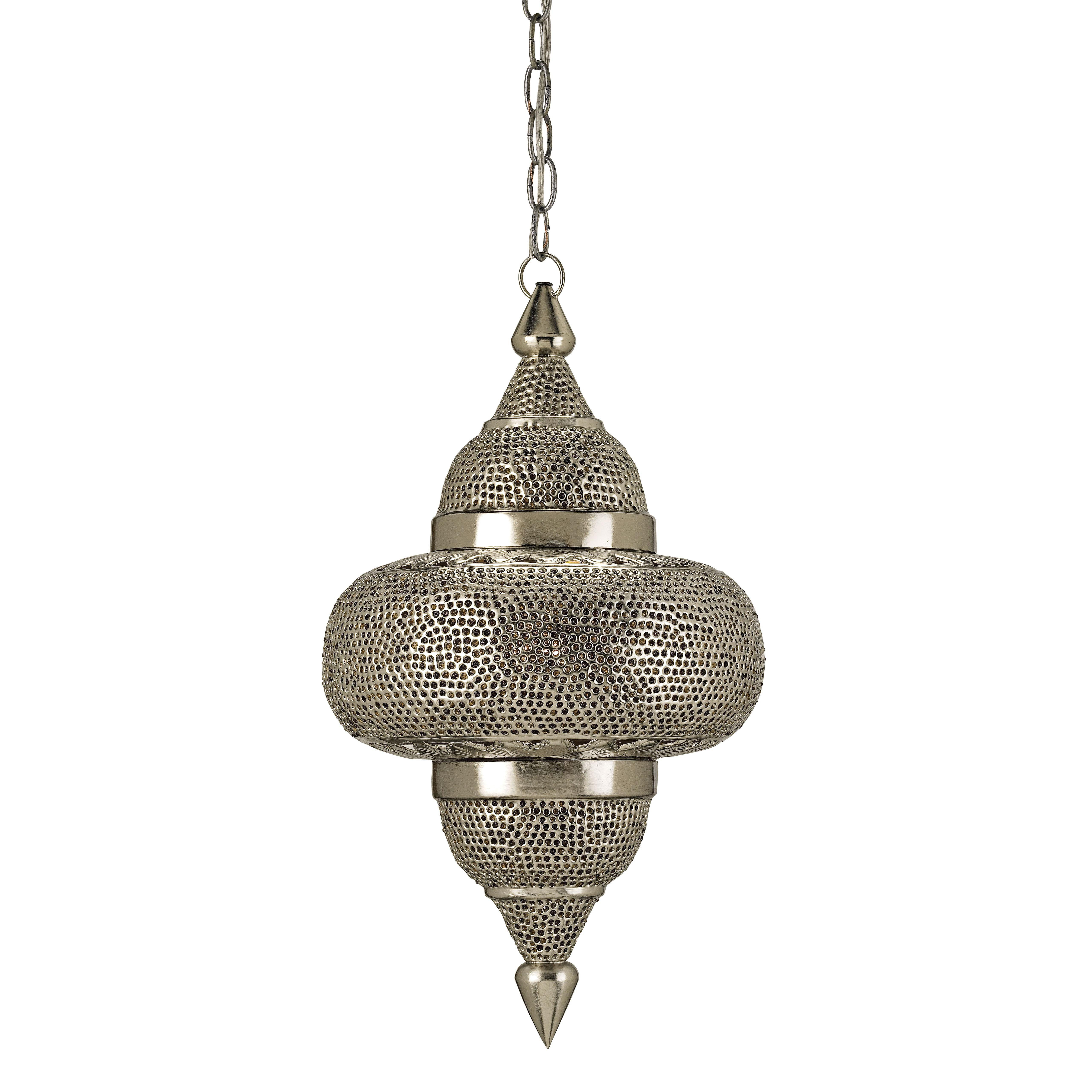 Currey And Company Tangiers Pendant - Currey-co-9103 | Candelabra, Inc.