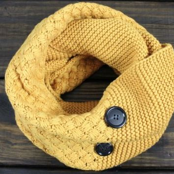 Boho Mustard Scarf, Mustard Fall Scarf, Infinity Scarves, Chunky Knit Scarf, Infinity Scarfs, Knitted Scarf from My fashion creations