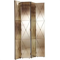 Arteriors Stephan Antique Mirror Room Screen - Arteriors-6199 | Candelabra, Inc.
