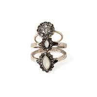FOREVER 21 Petal Midi Ring Set Burn.S
