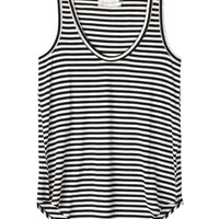 Zimmermann Black Striped Tank