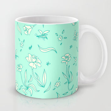 Flowers #2 Mug by Ornaart | Society6