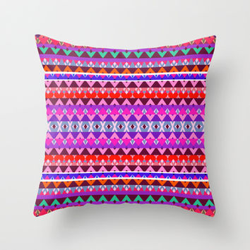 Mix #156 Throw Pillow by Ornaart | Society6