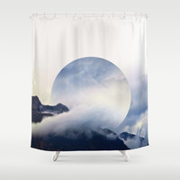 Daydreaming.  Shower Curtain by Witchoria