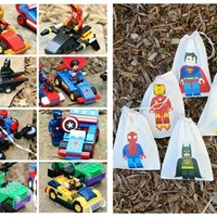 Block Hero sets *Vehicle, Figure, and Bag Collect all 12