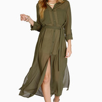 Down the Middle Maxi Dress $40