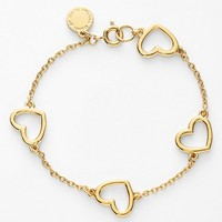 MARC BY MARC JACOBS 'Chasing Hearts' Station Bracelet
