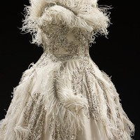 Evening dress - Victoria &amp; Albert Museum - Search the Collections