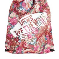 Vans Benched Drawstring Bag in Floral Print at asos.com
