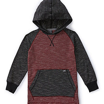 First Wave 8-20 Thermal Hoodie  Red