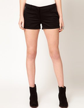 Vero Moda Tailored Clubbing Shorts at asos.com