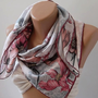 Silk -Shawl - Scarf