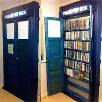 Madigan Reads: Tardis Bookshelf
