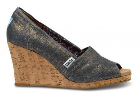 Silver Azar Women's Wedges