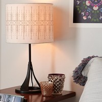 Magical Thinking Arrows Lamp Shade- Purple One