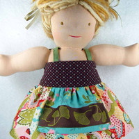 Waldorf Bamboletta doll dress - also fits American Girl doll and many 15/16/18 inch dolls - M2M Platinum MJ - Robe pour poupe