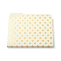 Kate Spade Dots Folder Set