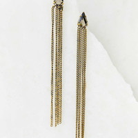 Vintage Fringe Drop Earring- Gold One
