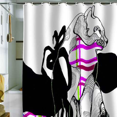 DENY Designs Home Accessories | Randi Antonsen Cat 2 Shower Curtain