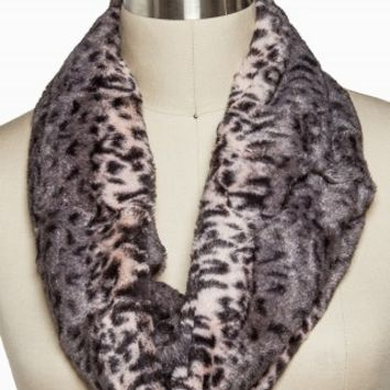 LEOPARD FUR ETERNITY SCARF