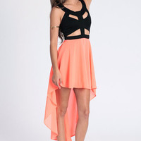 Neon Lights Cut Out Dress By Reverse - $74.00 : ThreadSence.com, Free-spirited fashion for the indie-inspired lifestyle