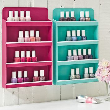 Jane Beauty Collection, Wall Nail Polish Organizer
