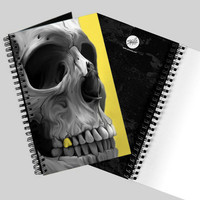 &#x27;Golden&#x27; Skull Journal by Spilla